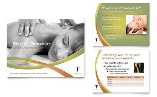Massage & Chiropractic PowerPoint Presentation Template