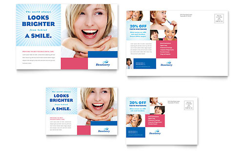 Family Dentistry Postcard Template