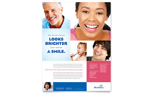 Family Dentistry Flyer Template