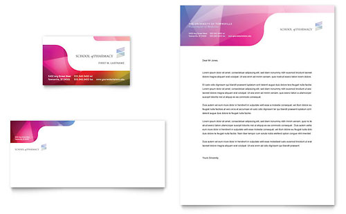 Medical Health Care Letterheads – Stationery Templates for Designers