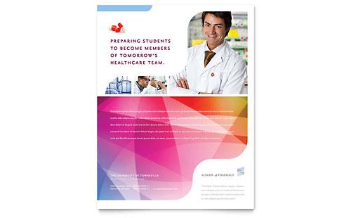 Pharmacy School Flyer Template