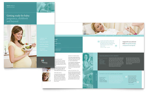 Womens Health Pamphlet Templates – Free Medical Brochure Templates