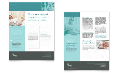 Pregnancy Clinic Datasheet Template