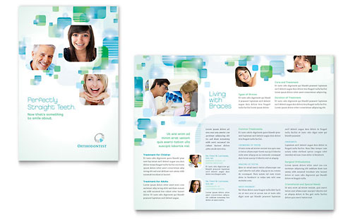 Orthodontist - Brochure Template