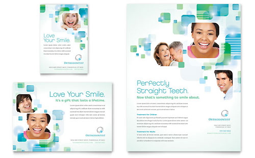 Orthodontist Flyer & Ad Template