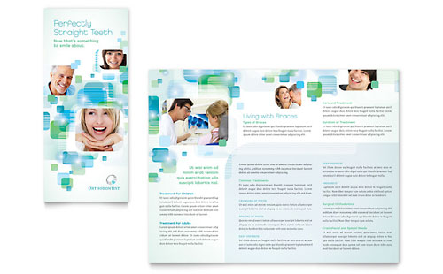health care brochure template - medical health care brochure templates designs