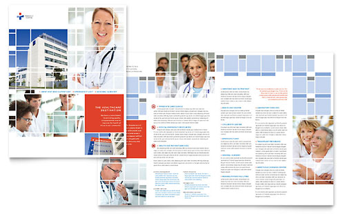 Hospital Brochure Template