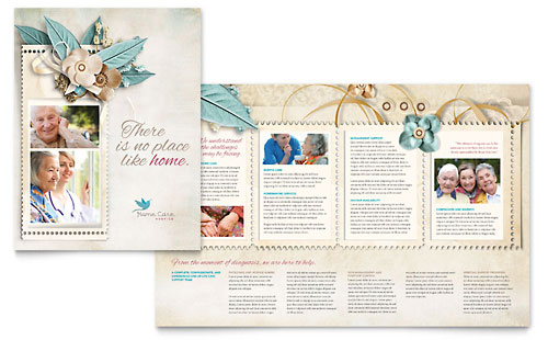Hospice & Home Care Brochure Template