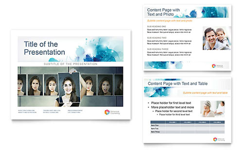 Behavioral Counseling PowerPoint Presentation Template