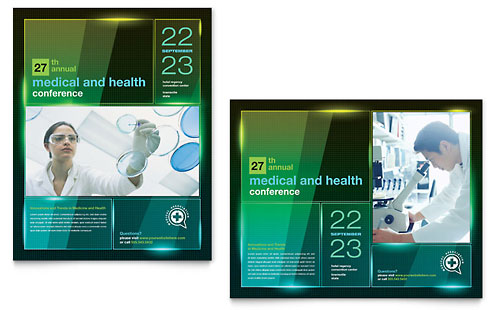 Medical Conference - Poster Template