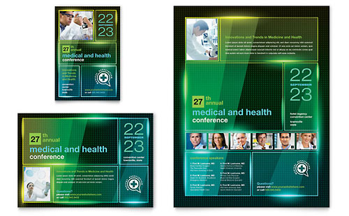 Medical Conference Flyer & Ad Template