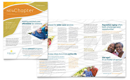 Assisted Living Newsletter Template