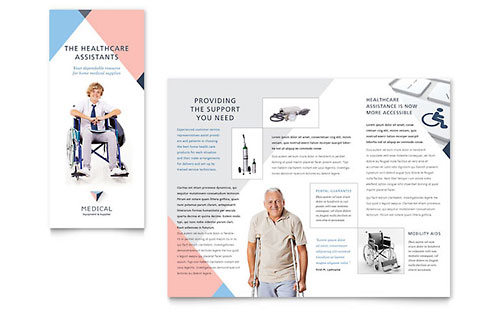 Home Medical Equipment Brochure Template