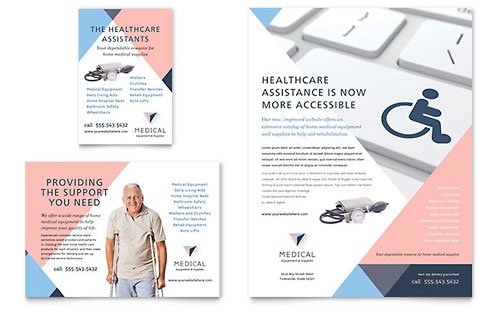 Home Medical Equipment Flyer & Ad Template