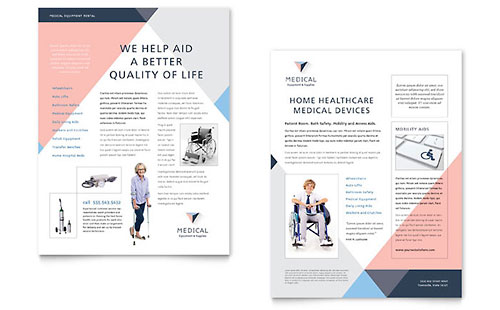 Medical Health Care Sales Sheets – Sales Sheets Templates