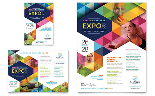 Health Fair Flyer & Ad Template