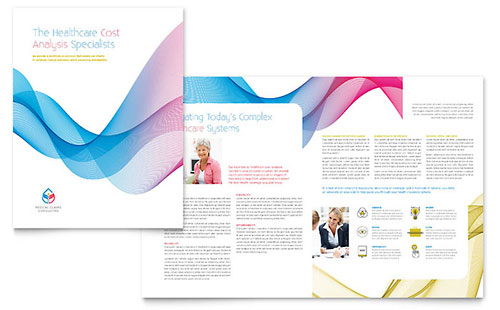Insurance Consulting InDesign Brochure Template