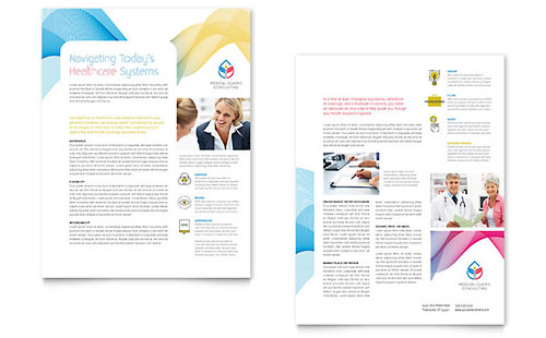 Business Consulting | Sales Sheet Templates | Professional Services