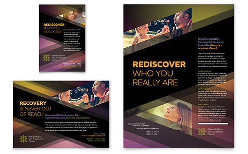 Rehab Center Flyer & Ad Template