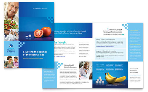 Dietitian - QuarkXPress Brochure Template
