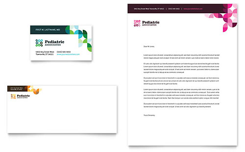 Pediatric Doctor Letterhead Template