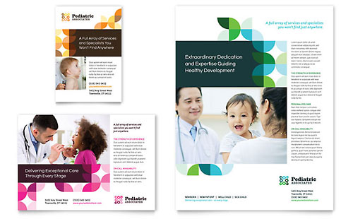 Pediatric Doctor Flyer & Ad Template