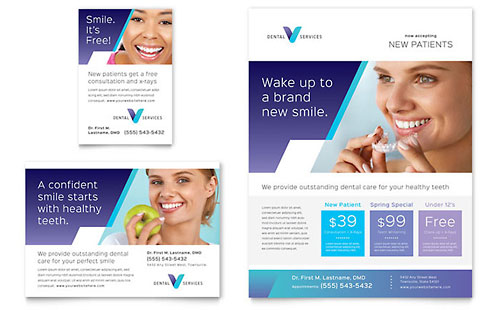 Dentist Flyer & Ad Template
