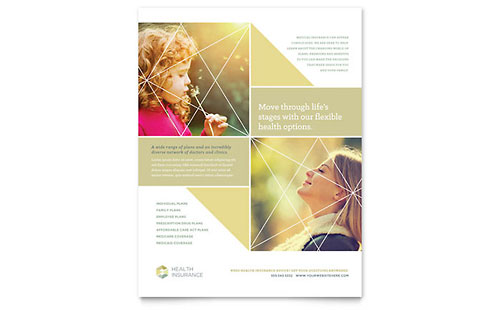 Health Insurance Flyer Template