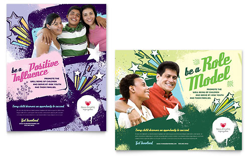 Non Profit Youth Education | Poster Templates | Education & Training