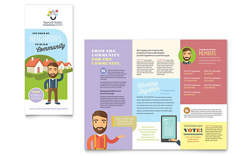 Apple iwork pages templates brochures flyers newsletters for Apple pages brochure templates