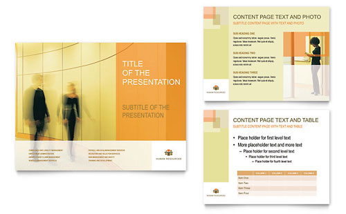 HR Consulting PowerPoint Presentation Template