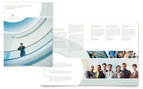 Business Consulting Brochure Template