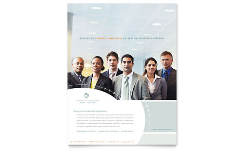 Business Consulting - Flyer Template