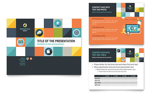 Advertising Company PowerPoint Template