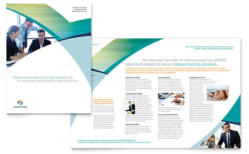 Business Training - Brochure Template