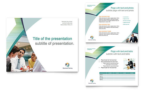 Business Training PowerPoint Presentation Template
