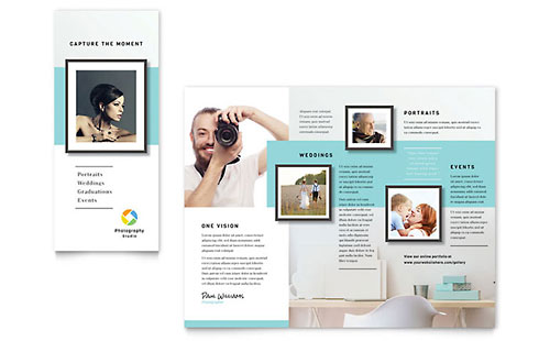 Photographer Brochure Template