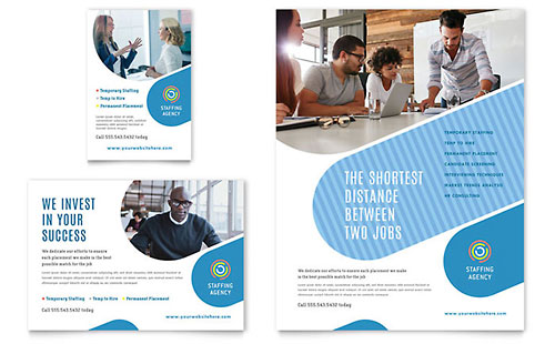 Employment Agency Flyer & Ad Template
