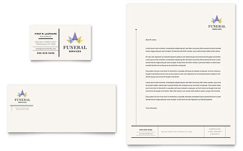 Professional Services Letterheads – Professional Letterhead Sample