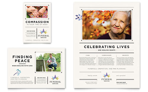 Funeral Services Flyer & Ad Template