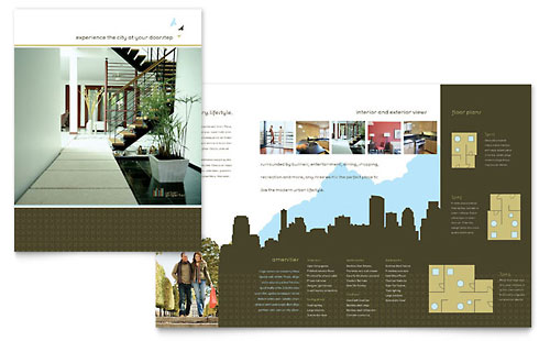 Urban Real Estate Brochure Template