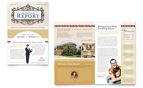 Luxury Real Estate Newsletter Template
