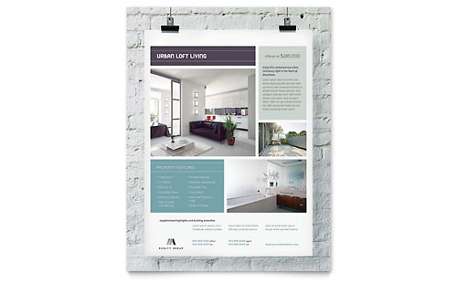 Urban Loft Flyer Template
