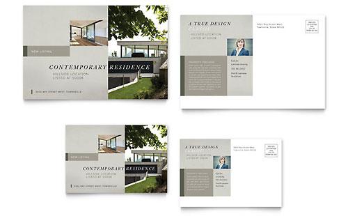 Postcard Templates InDesign Illustrator Publisher Word – Free Microsoft Word Postcard Template