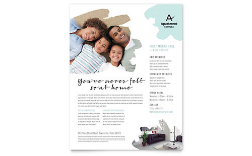 Apartment Flyer Template