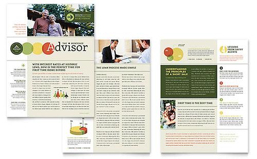 Mortgage Broker - Newsletter Template