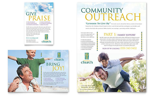religious flyers template free - religious organizations flyer templates designs