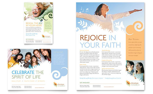 Christian Church Flyer & Ad Template