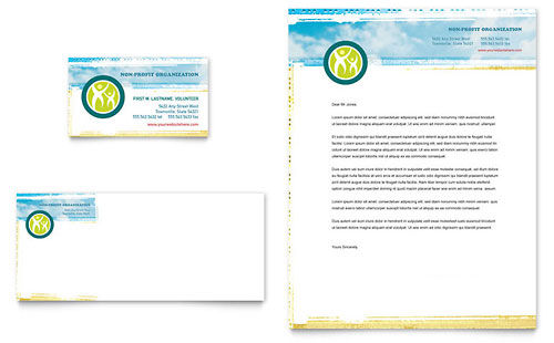 Special Education Business Card & Letterhead Template