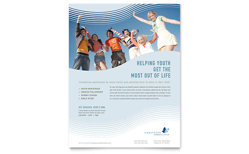 Christian Ministry Flyer Template